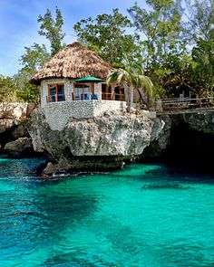 You can just leave me at this beautiful Jamaican Beach House Made of Stone. Thanks