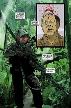 Memes Arte, Character Art, Character Design, Design Comics, War Comics, Special Ops, Punisher, Psychedelic, Anime