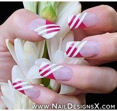 lines 3 nail art
