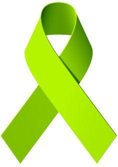Lime Green Represents Lymphoma Awareness