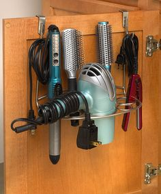 Look at this #zulilyfind! Silver Over-the-Cabinet Deluxe Styling Rack #zulilyfinds