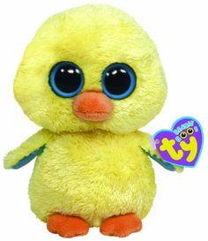 TY Beanie Boos - GOLDIE the Yellow Chick ( Beanie Baby Size ) by Ty, http://www.amazon.com/dp/B004IO9JXS/ref=cm_sw_r_pi_dp_RKRNqb1XSD1VA