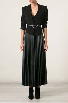 Black Skirt Outfits, Maxi Skirt Outfits, All Black Outfit, Maxi Skirts, White Outfits, Chic Black Outfits, Summer Outfits, Maxi Skirt Style, Jean Skirts