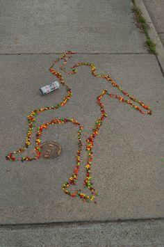 Skittles Memorial for Trayvon Martin