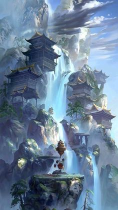 Post with 2680 votes and 101721 views. Tagged with fantasy, dump, destinybestgameever, helo; Dump of my favorite fantasy world pictures Fantasy Artwork, Fantasy Art Landscapes, Fantasy Landscape, Landscape Artwork, Landscape Concept, City Landscape, Anime Art Fantasy, Fantasy Concept Art, Chinese Landscape