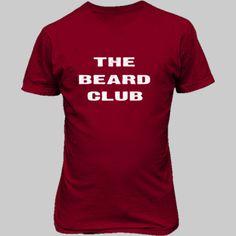The Beard Club Tshirt - Unisex T-Shirt FRONT Print