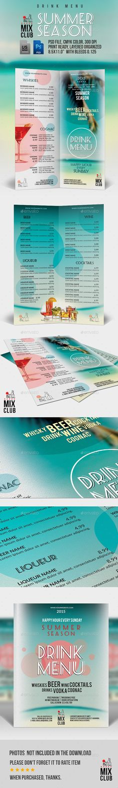 Mexican Restaurant Menu Template Restaurant menu template, Menu - sample drink menu template