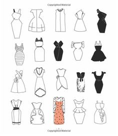 Different types of dresses