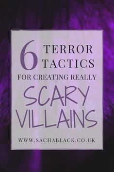 6 terror tactics for creating really scary villains in your novels. Writing Tips For Beginners Creative Writing Tips, Book Writing Tips, Writing Process, Writing Help, Writing Skills, Writing Workshop, Writing Lessons, Writing Ideas, Writers Notebook