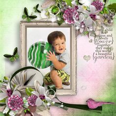 Find out just how beautiful this kit is! Get it on sale now at Digital Scrapbook Studio...Secret Summer Garden by Feli Designs