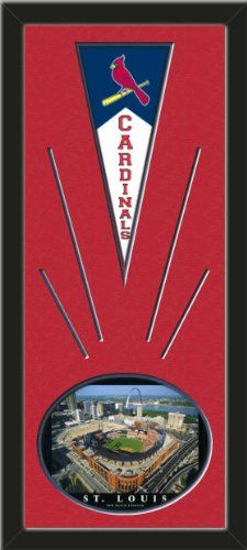 St. Louis Cardinals Wool Felt Mini Pennant & New Busch Stadium Photo - Framed With Team Color Double Matting In A Quality Black Frame-Awesome & Beautiful-Must For A Championship Team Fan! Most NFL, MLB, NBA, Teams Available-Plz Mention In Gift Message If Need A different Team Art and More, Davenport, IA http://www.amazon.com/dp/B00I1DAKQM/ref=cm_sw_r_pi_dp_mqtEub0W89YH4