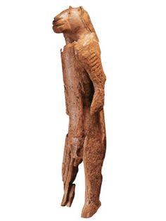 Lion Man of Hohlenstein-Stadel, Germany, c.28000 BC, artist unknown
