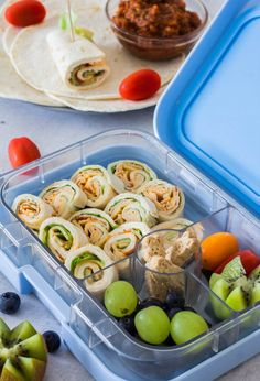 7 quick ideas for the kids lunch box / lunch box ⋆ - Lunch Snacks Food To Go, Food And Drink, Homemade Wraps, Kids Packed Lunch, Lunch Wraps, Healthy Sweet Snacks, Healthy School Lunches, Breakfast On The Go, Lunch Recipes