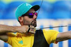 Day 1: Archery Men's Team - Taylor Worth of Australia