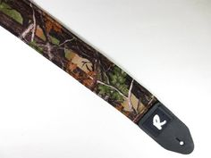 Real Tree CAMO Guitar Strap - Camouflage - Country