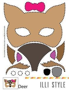 çocuklar Aşkına Kedi Maskeboyama Sayfası Ve Parti Süslemeleri