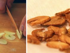 mint love social club: {garlic-fest dinner party} garlic chips