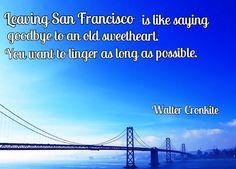 San Francisco travel quotes