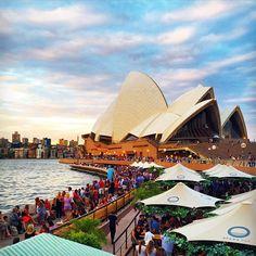 Australia Destinations on Instagram - Sydney Harbour Bridge