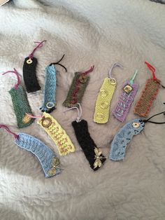 Knitted bookmarks make any book better!