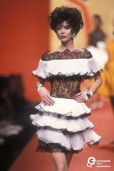 Find out more on Europeana Valentino Couture, Valentino Garavani, Peplum Dress, Runway, Ballet Skirt, Spring Summer, Skirts, Dresses, Classic