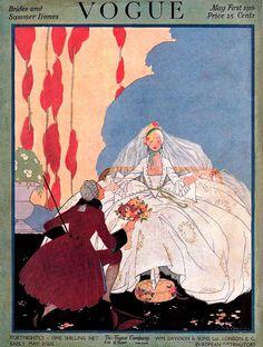 Vogue May 1, 1916 - Brides and Summer Homes Edition, UK