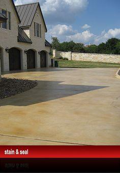 Stain And Seal, Acid Stain, Decorative Concrete   Boerne, San Antonio TX