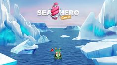 Video Game Could Help Diagnose Dementia: Sea Hero Quest Dementia Research, Mobile Game, Video Game, Hero, Games, Learning, Movie Posters, Aged Care, Virtual Reality