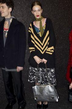 Prada Borse autunno inverno 2014 2015  #prada #borse #bags #purses #borsedonna #moda2014 #fashion #autunnoinverno #autumnwinter #autumnwinter2015 #autunnoinverno20142015