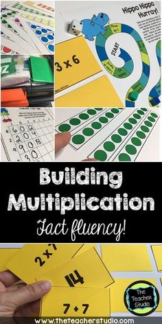 Today's post is all about the research behind building multiplication understanding and fact fluency.  Try some of the included tips in YOUR math workshop!