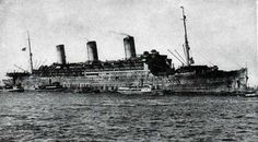 The S.S. Leviathan as a Troup Tansport Ship