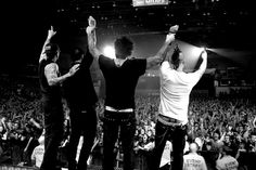 Avenged Sevenfold (M. Shadows, Zacky Vengeance, Synyster Gates, Johnny Christ)