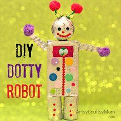 DIY-Dotty-robot