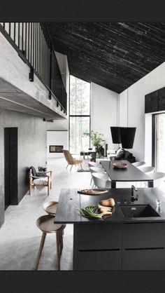 kitchen. simple