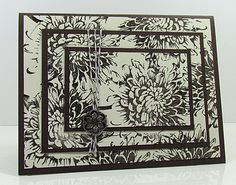 Triple Time Stamping from Catherine Pooler Fun Crafts, Paper Crafts, Card Ideas, Gift Ideas, Mail Delivery, Making Cards, Fall Cards, Flower Cards, Craft Gifts