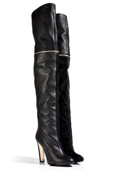 Vionnet Suede/Leather Over the Knee Boots