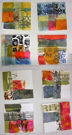 voyages de collage: art et l'âme