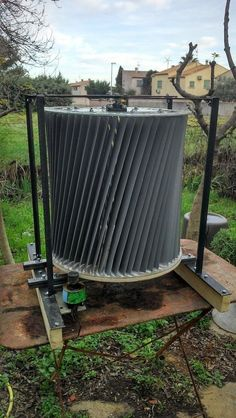 Vertical axis wind powered generator resources post. VAWT have a lot of upsides compared with classic wind generators and are increasing in popularity among homeowners.