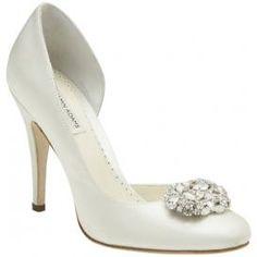 Benjamin Adams Lamour Bridal Shoes  $299.00 per pair