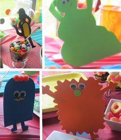 Wayward Girls' Crafts: Monster Baby Shower- and a giveaway!!