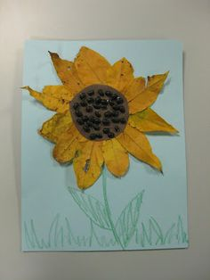Spectacular Story Time: Story Time Craft: Sunflowers
