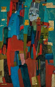"""Saatchi Art Artist Tahnee Lonsdale; Painting, """"The Three Of Us"""" #art"""
