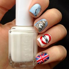 LONDON #nail #nails #nailart https://www.facebook.com/shorthaircutstyles/posts/1760242960932810