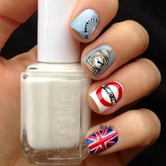 A england ballerina collection encore margot nail art polish london nail nails nailart prinsesfo Gallery