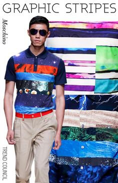 Trend Council Spring 2014: Patterns for Men