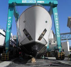 #Portomirabello #shipyard for #yacht and #superyacht