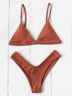 Triangle Beach Bikini SetFor Women-romwe Source by katieshafffer Bikini Babes, Bikini Beach, Pin Up Swimwear, Swimwear Fashion, Bikini Swimwear, Bikini Fashion, Fashion Fashion, Fashion Ideas, Fashion Beauty
