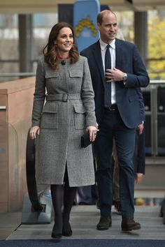 Prince William Duke of Cambridge and Catherine Duchess of Cambridge attend the Children's Global Media Summit at the Manchester Central Convention on...