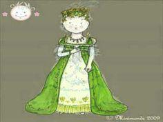 ▶ petite histoire de la robe de princesse ... de la préhistoire à nos jours - YouTube