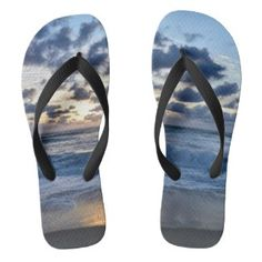 Shop Ocean sunset flip flops created by Christiangiftsca. Fashion Accessories, Hair Accessories, Ocean Sunset, Flip Flops, Unique Gifts, Gadgets, Footwear, Shoe, Hair Accessory
